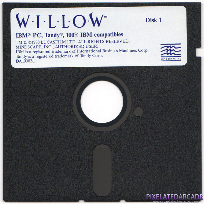 Willow Cover Art: Disk 1 of 2