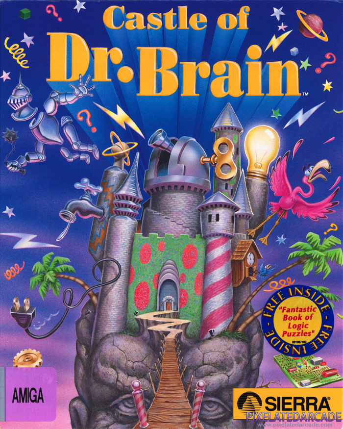 Castle of Dr. Brain Cover Art: