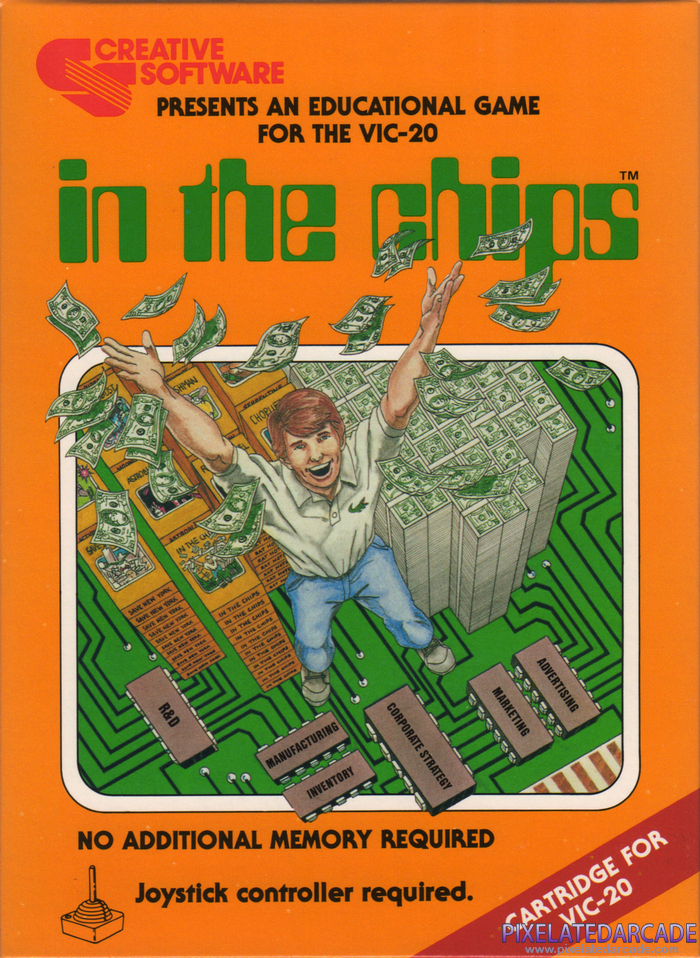 In the Chips Cover Art: