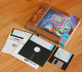 Photo - Game disks and box