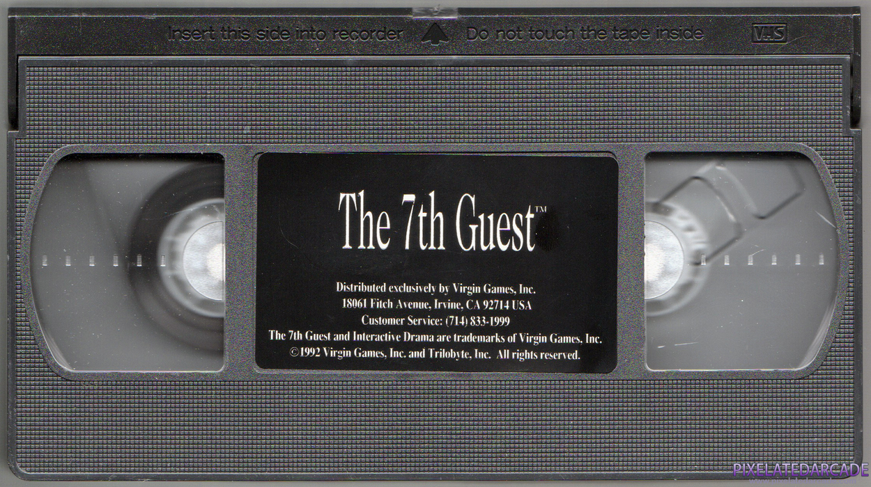 7th Guest, The Cover Art: Special Edition VHS - VHS tape