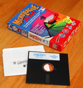 Photo - MicroLeague Baseball box and game disk