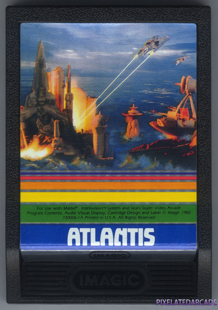 Atlantis Cover Art: Front