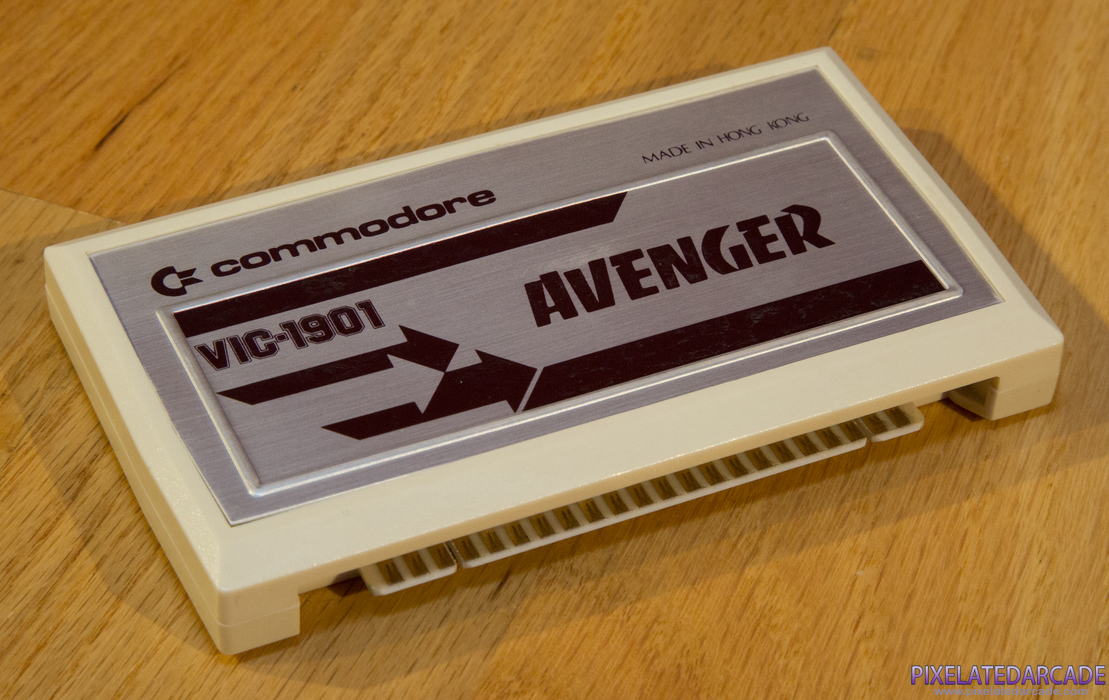 VIC Avenger Cover Art: Game cartridge