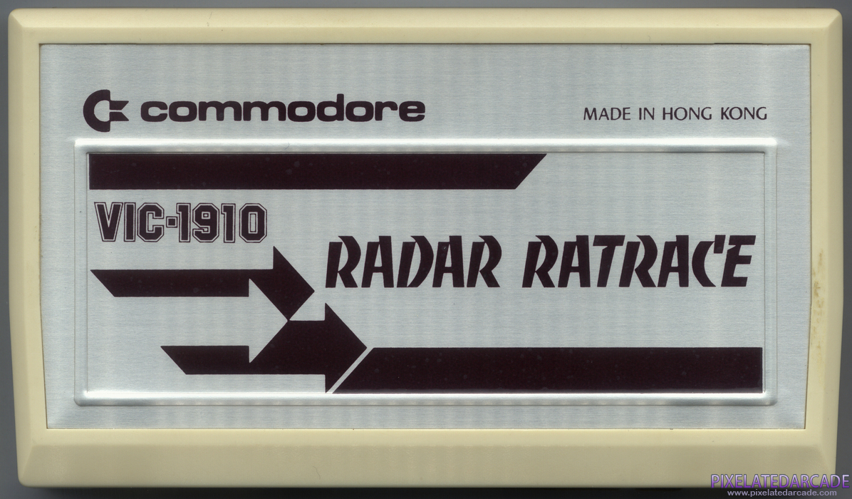 Radar Ratrace Cover Art: Front
