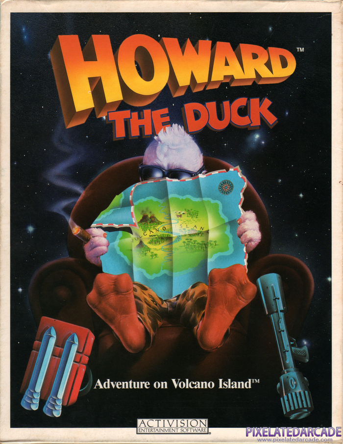 Howard the Duck Cover Art:
