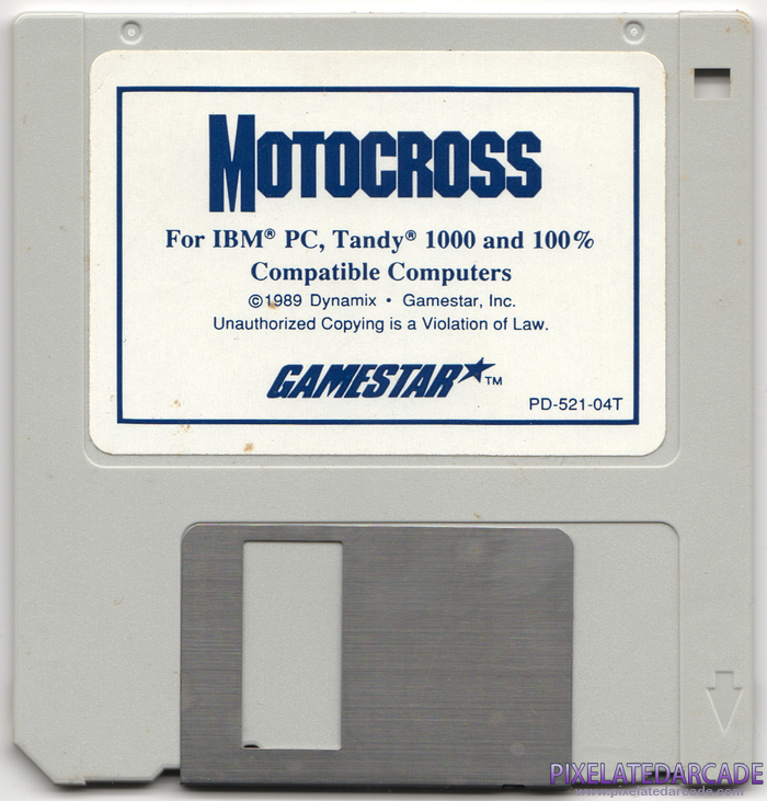 Motocross Cover Art: Disk 1 of 1 - Front
