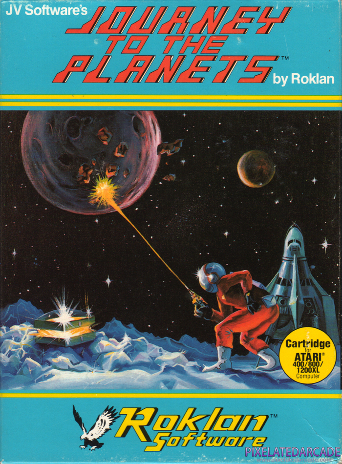 Journey to the Planets Cover Art: