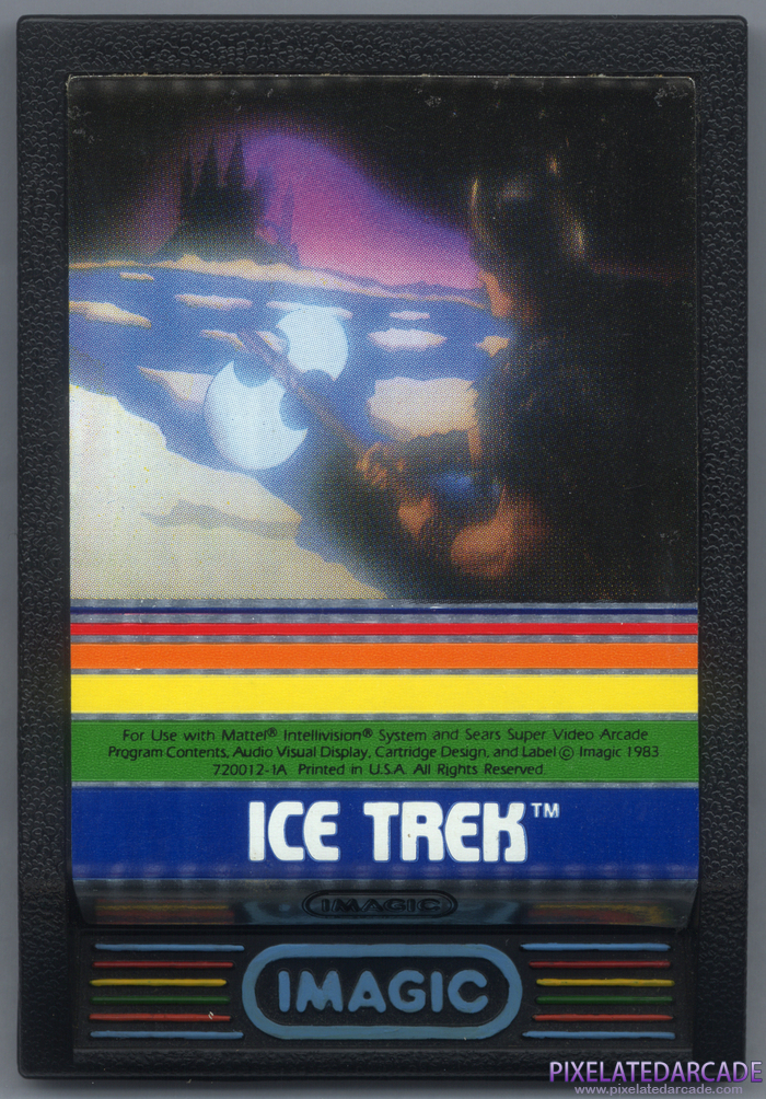 Ice Trek Cover Art: Front