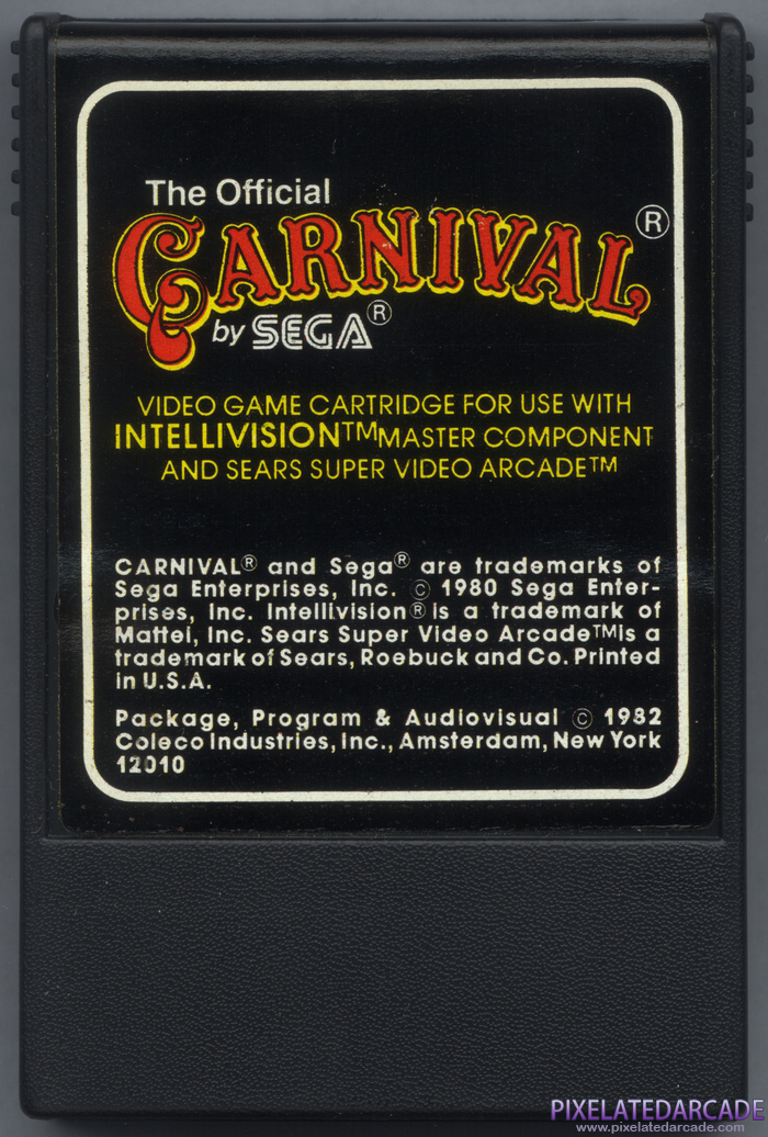 Carnival Cover Art: Front