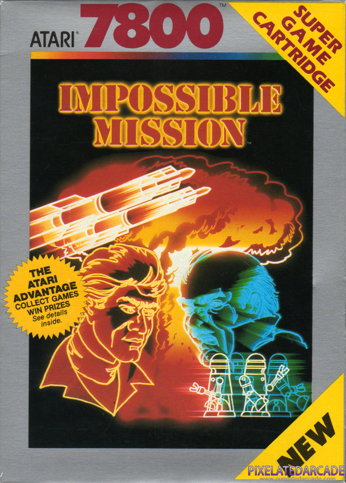 Impossible Mission Cover Art: