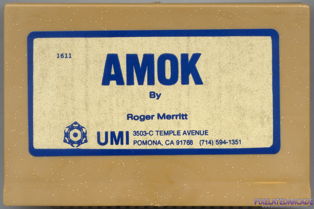 Amok Cover Art: Front