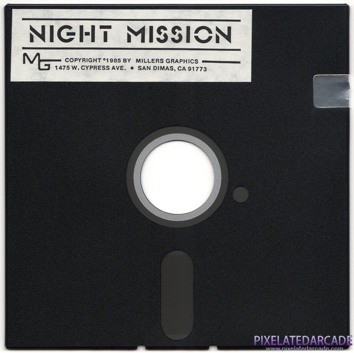 Night Mission Cover Art: Front