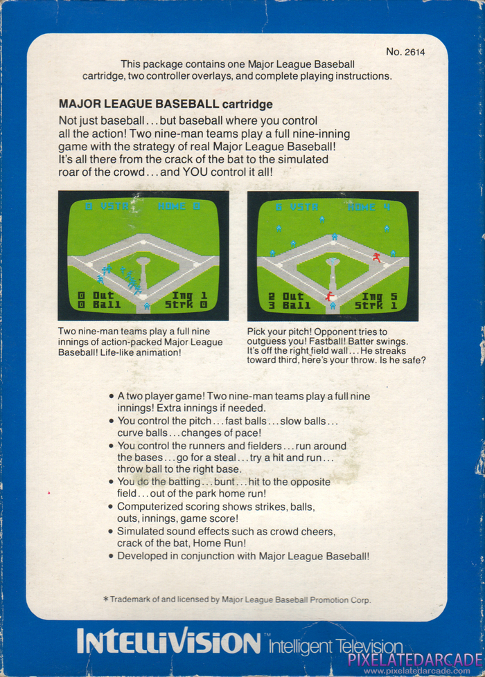 Major League Baseball Cover Art: