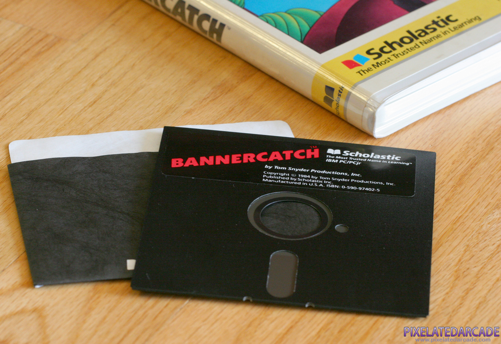Bannercatch Cover Art: Bannercatch game disk