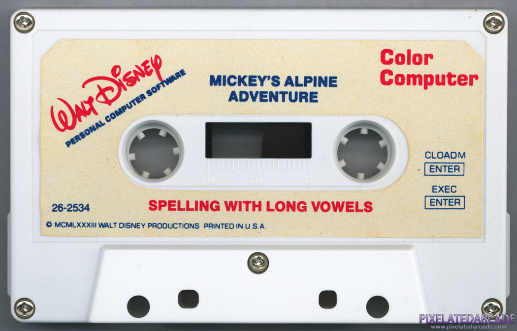 Mickey's Alpine Adventure Cover Art: Front