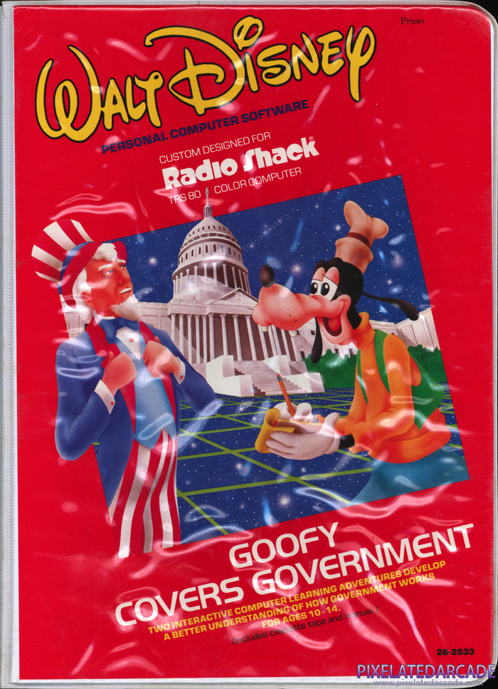 Goofy Covers Government Cover Art:
