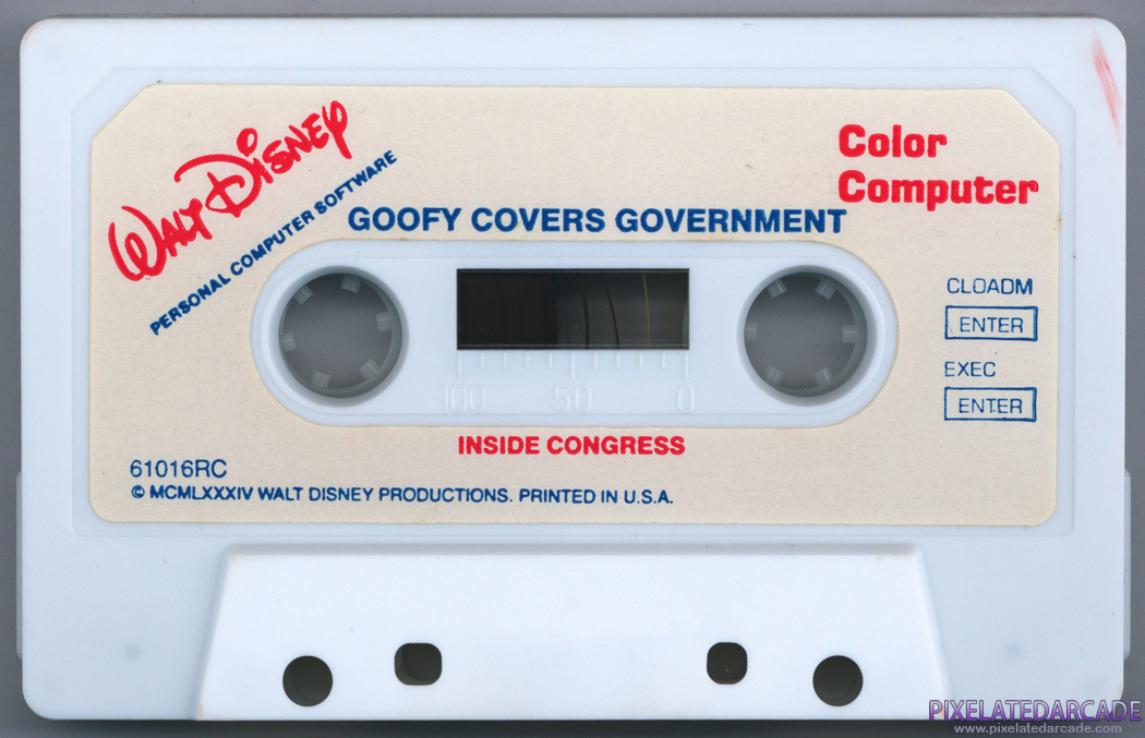 Goofy Covers Government Cover Art: Back