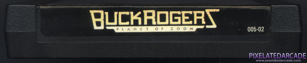 Buck Rogers: Planet of Zoom Cover Art: Top