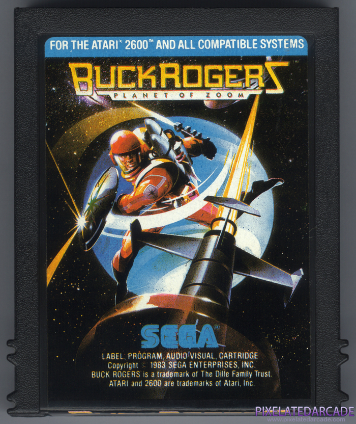Buck Rogers: Planet of Zoom Cover Art: Front