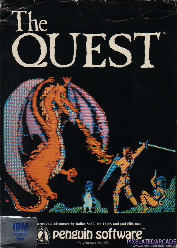Quest, The Cover Art: