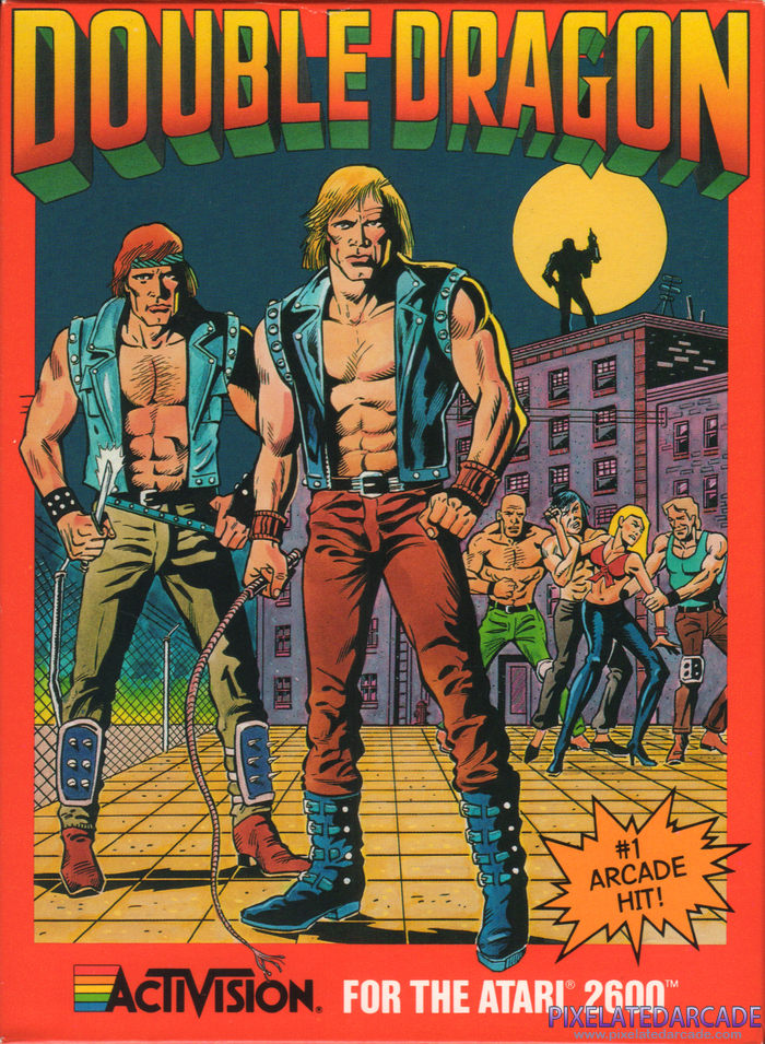 Double Dragon Cover Art: