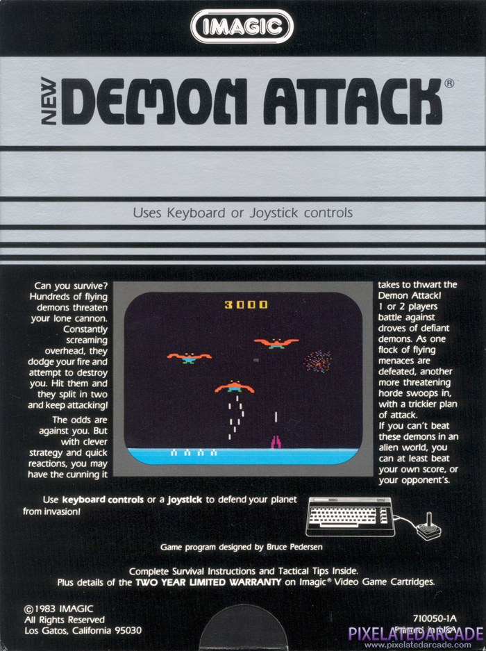 Demon Attack Cover Art: