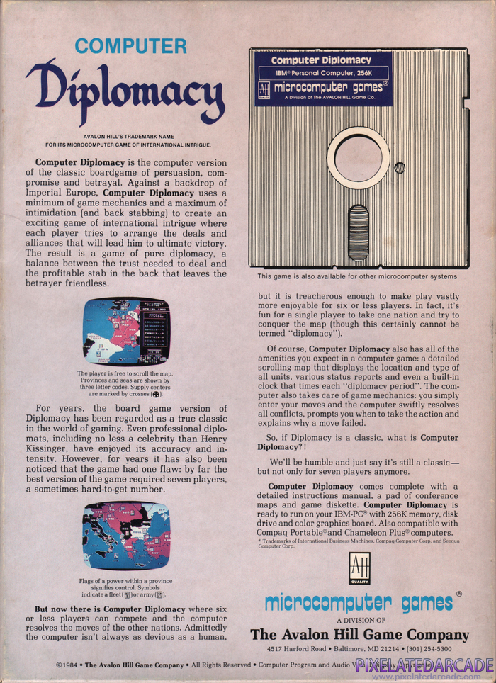 Computer Diplomacy Cover Art:
