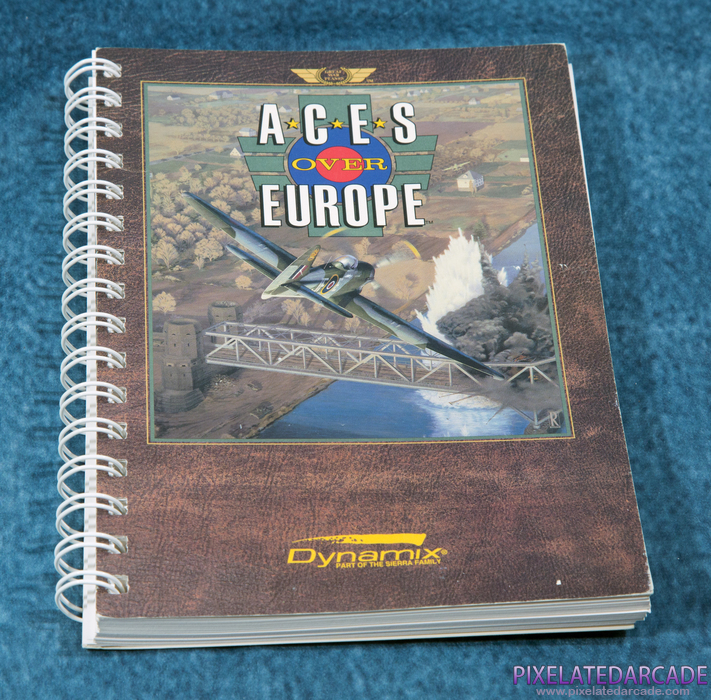 Aces Over Europe Cover Art: Instruction Manual