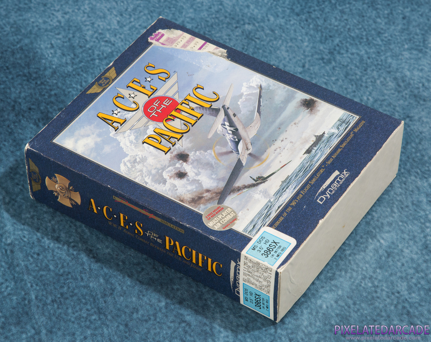 Aces of the Pacific Cover Art: Box