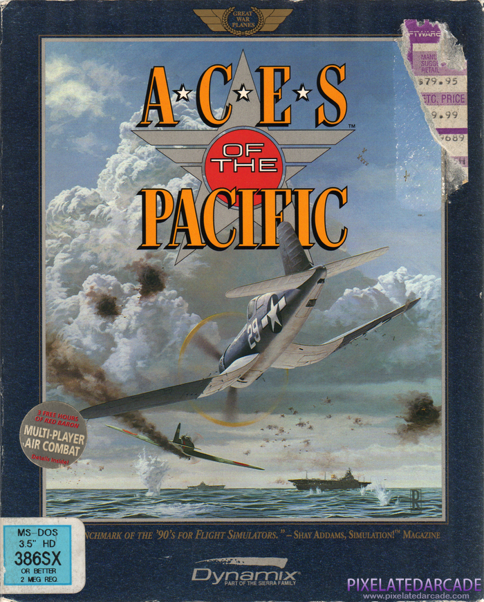 Aces of the Pacific Cover Art: