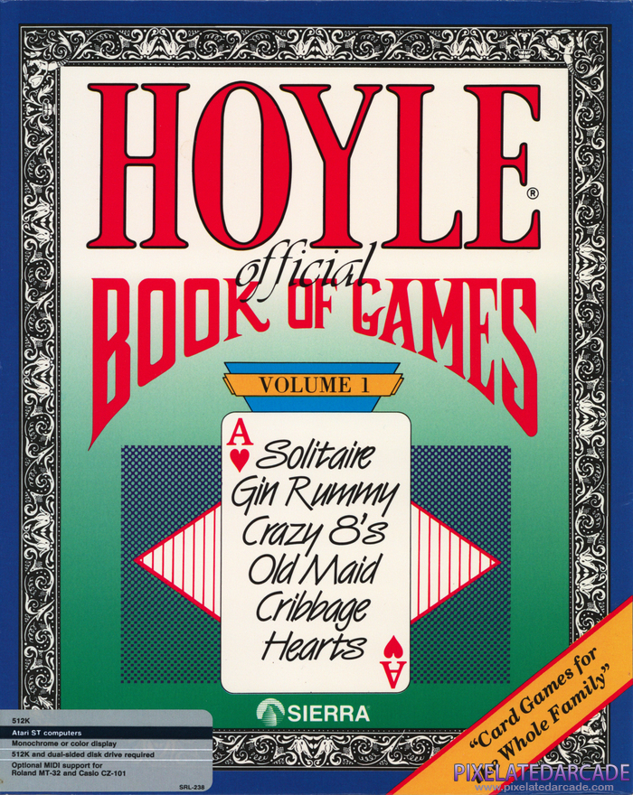 Hoyle: Official Book of Games - Volume 1 Cover Art: