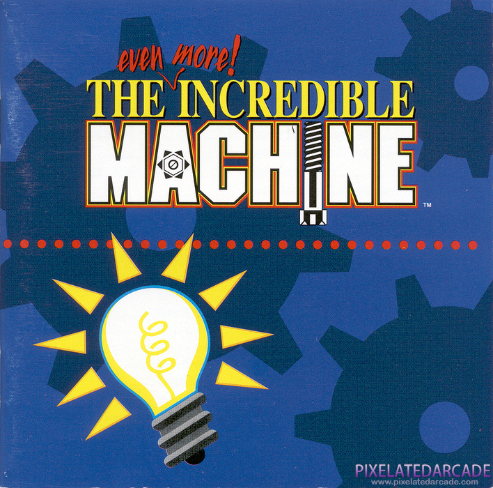 Even More! Incredible Machine, The Cover Art: Jewel Case - Front