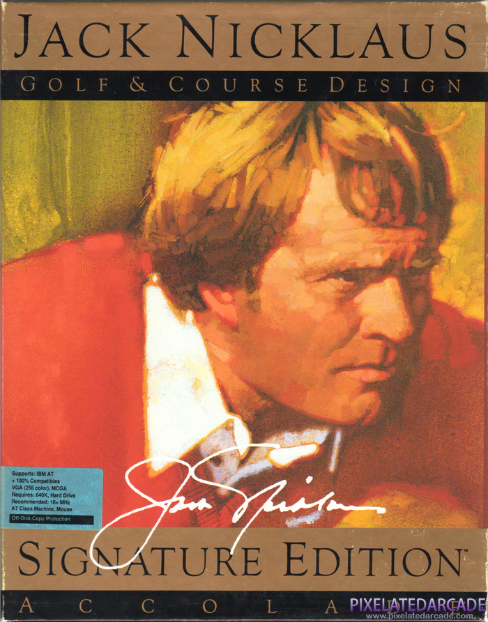 Jack Nicklaus Golf & Course Design: Signature Edition Cover Art: