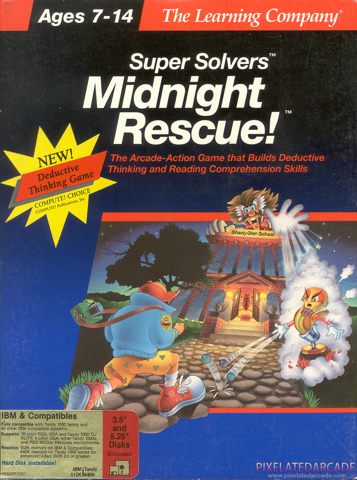 Super Solvers: Midnight Rescue! Cover Art: