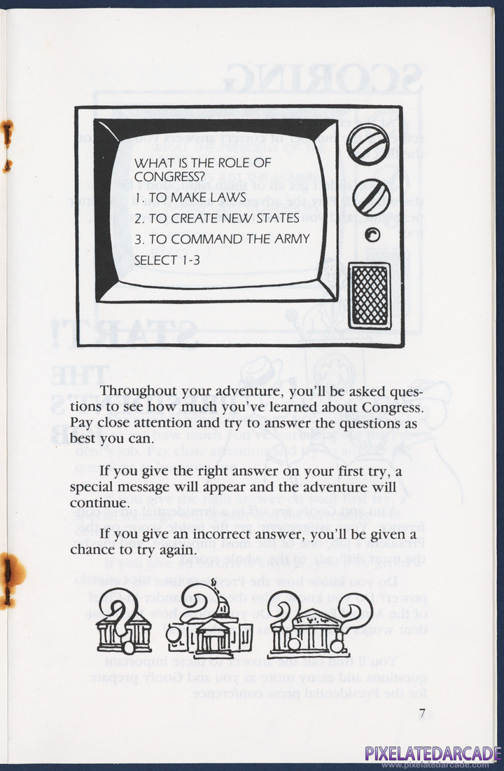 Goofy Covers Government: Instruction Manual - Page 7