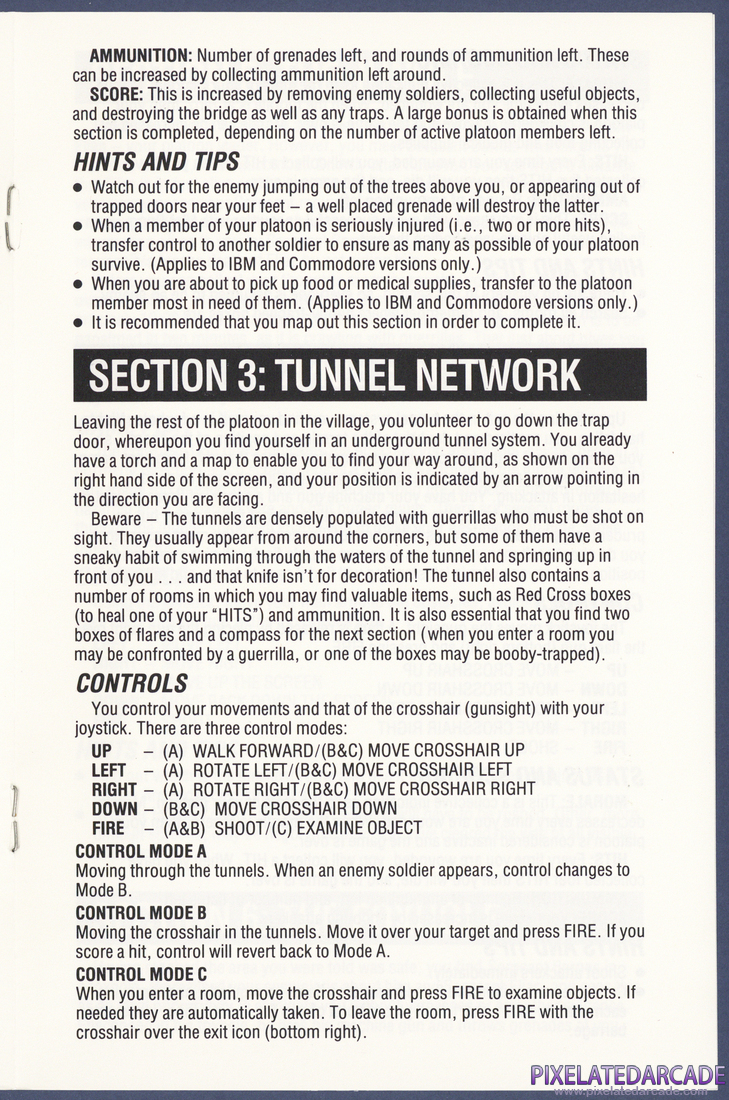 Platoon: Instruction Manual - Page 5