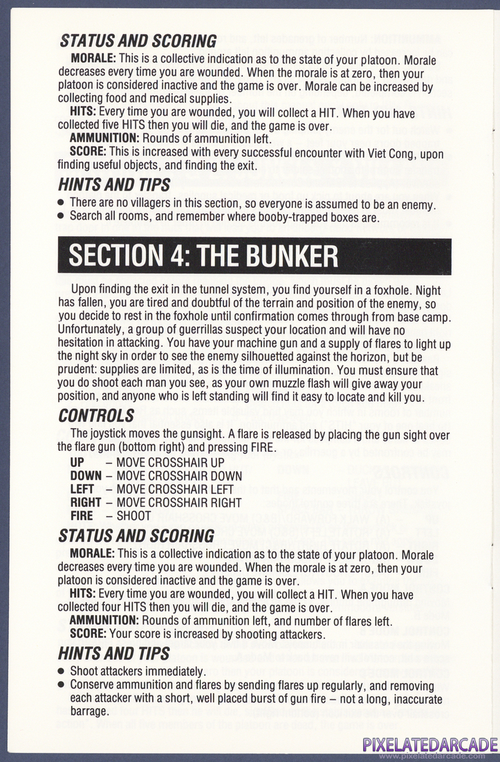 Platoon: Instruction Manual - Page 6
