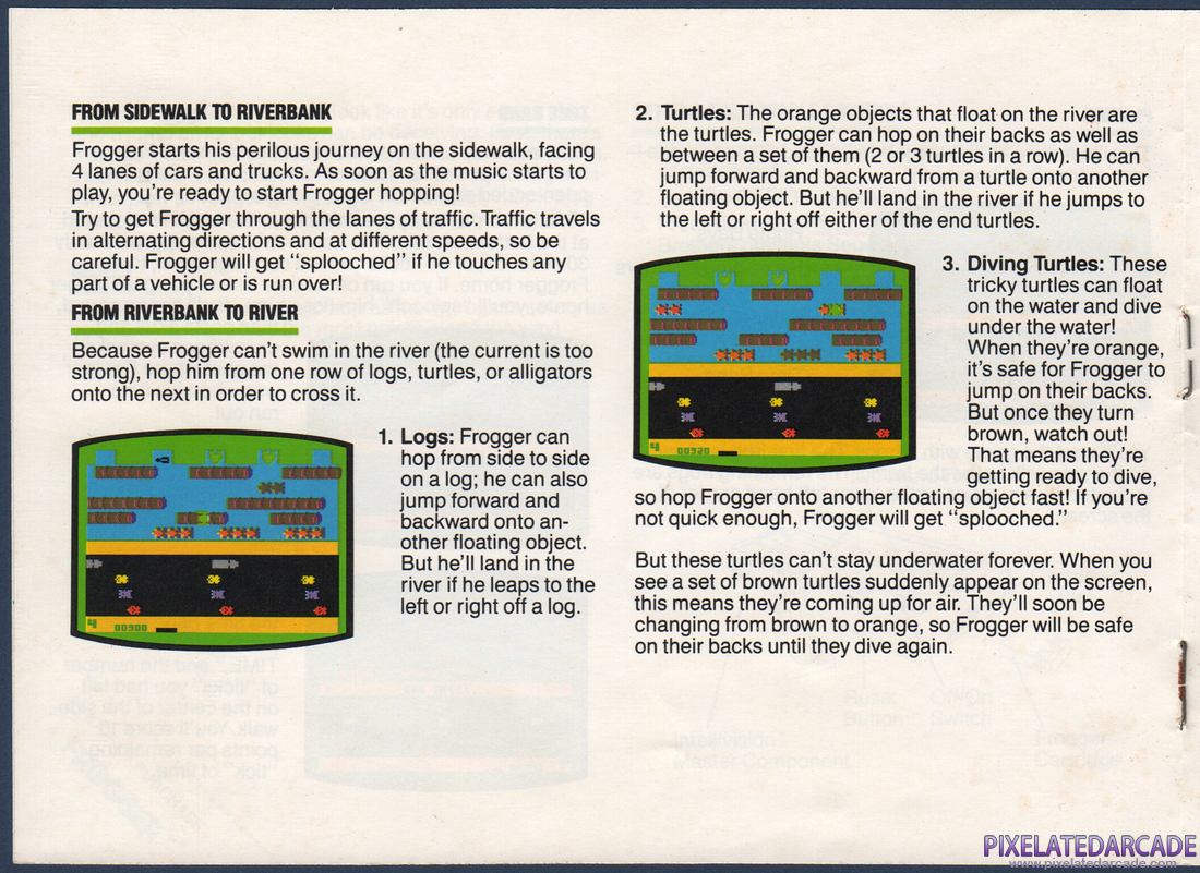 Frogger: Instruction Manual - Page 4
