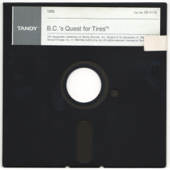 BC's Quest for Tires disk scan
