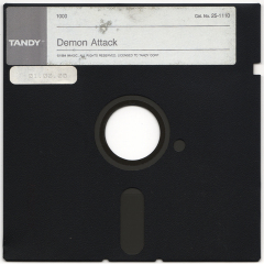 Demon Attack disk scan