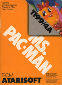 Ms. Pac-Man box front
