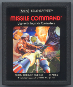 Missile Command cartridge