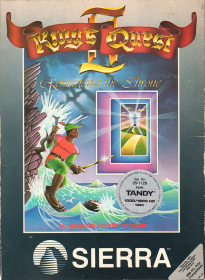 King's Quest II box front