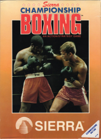 Sierra Championship Boxing box front