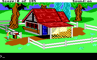 Tandy 1000 version of King's Quest II