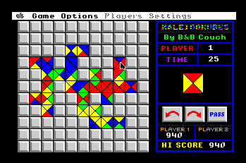 Apple IIgs version of KaleidoKubes