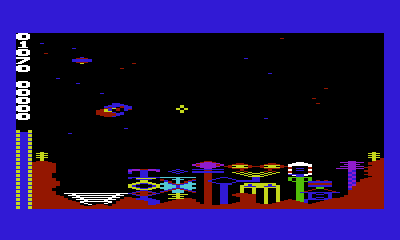 Commodore VIC-20 version of Outworld