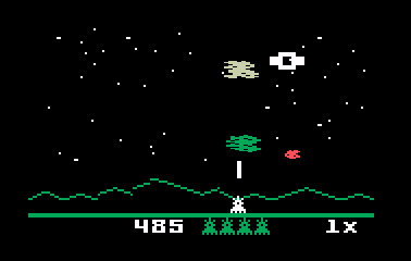 Intellivision version of Astrosmash
