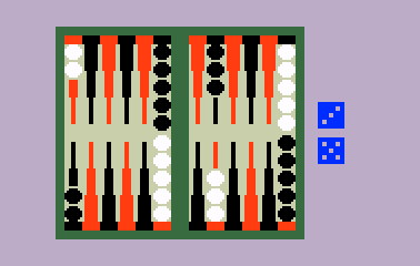 ABPA Backgammon for the Intellivision